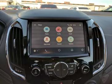 Waze Auto Android Image