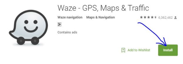 Waze For PC Image