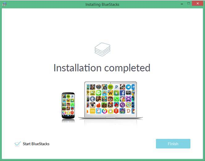 Bluestacks Installed Image
