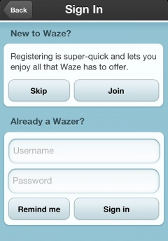 Create Waze Account Image