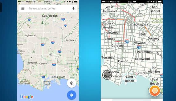 Google Maps vs Waze Image